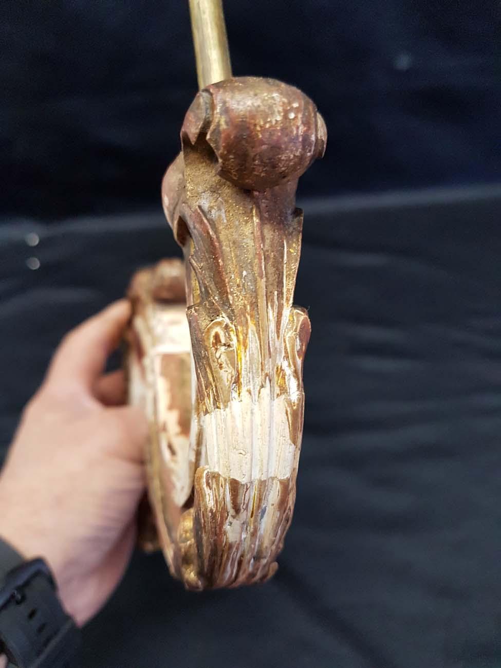 lustre-6l-bois-sculpte-dore-XIXeme-reparation