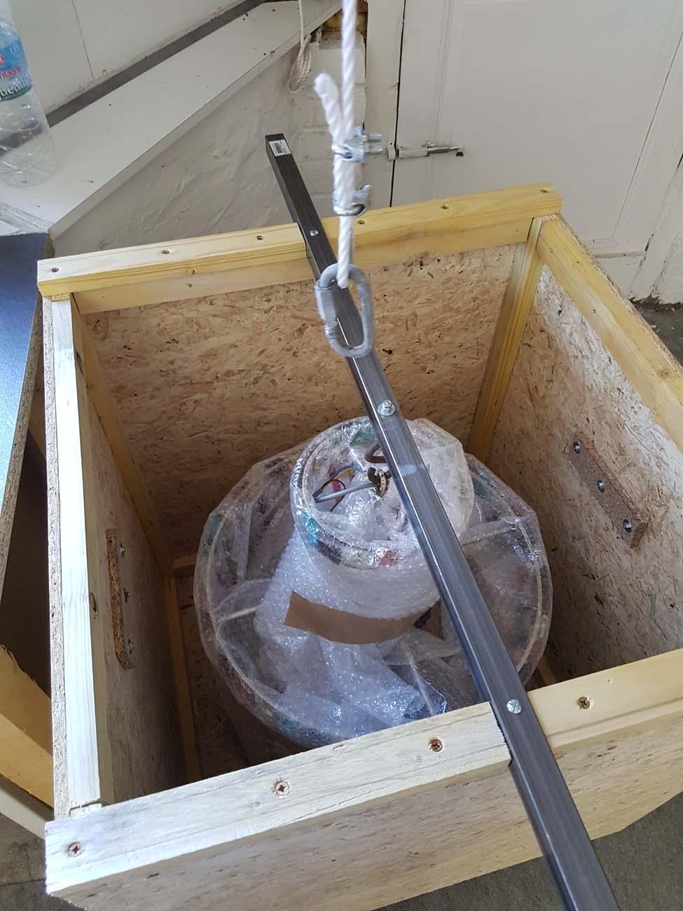 RESTAURATION Plafonnier 8 L Gouttes cristal multicolores